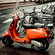 Royalty-Free Stock Photo: Vespa Motorcycle