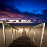 Beautiful south Europe beach — Stock Photo