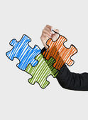Drawing a puzzle concept — Stock Photo