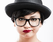 Verveeld nerd — Stockfoto