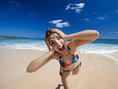 Genieten van de zomer — Stockfoto