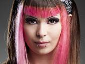 パンク少女 — ストック写真