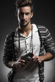 Fashion young man — Stock Photo