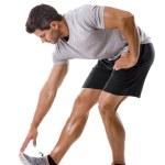 ������, ������: Man doing exercises