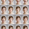 Young man portraits — Stock Photo