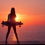 Skater Girl — Stock Photo