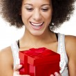 Holding gift — Stock Photo #41317547