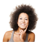 Afro-American woman — Stock Photo