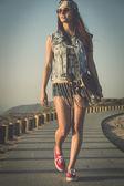 Skater girl — Stock fotografie