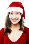 Santa kvinna — Stockfoto