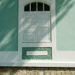 Stock Photo: Antique house window
