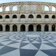 Roman Amphitheatre in fisherman wharf, Macao - Stock Photo