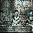 Stock Photo: Sculpted buddhas, Siem Reap, Cambodia