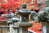 Granite lanterns — Stock Photo