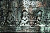 Sculpted buddhas, Siem Reap, Cambodia — Stock Photo