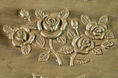 Carved pattern of jewelry box — Stock Photo