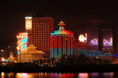 The casino Lisboa, Macau — Stock Photo