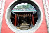 Window of temple — Stock Photo
