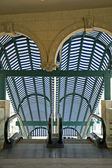 Subway escalator — Stock fotografie