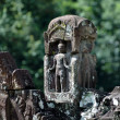 Statue carving on mandapa, Neak Pean, Cambodia — ストック写真 #21426115