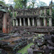 Ruin temple at Angkor Wat, Cambodia — Stock Photo