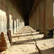 Stock Photo: Corridor in Angkor Wat, Siem Reap, Cambodia