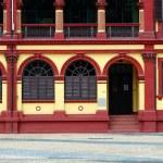 Preserved colonial house, Macau — Stock Photo