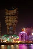 The new and old casino of Lisboa, Macau — Stock Photo