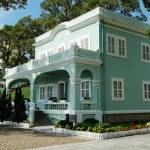 Preserved colonial house, Macau, Taipa — Stock Photo #34716425