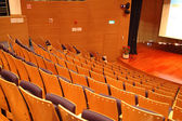 The theater seats — Stock Photo