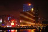 Casinos Wynn and Galaxy, Macau — Stock Photo