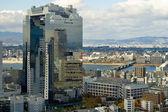 Urban view in Osaka — Stock Photo