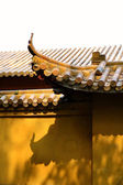 Architecture of Chinese temple — Stock Photo