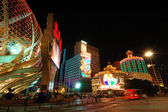 The new and old casino of Lisboa, Macau — Stock Photo