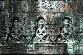 Sculpted buddhas, Siem Reap, Cambodia — Stock Photo