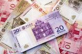 Macau dollar (patacas) — Stock Photo