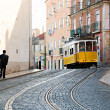 Tram in Lisbon — Stock Photo #43688659
