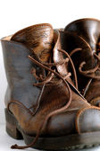 Leather boots — Stock Photo