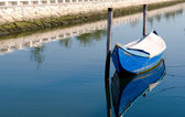 Boat in the river — Stock Photo