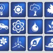 Ecology Icons — Stock Vector #12893427