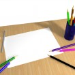 Table for drawing — Stock Photo #2748754