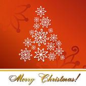 クリスマス ツリーのベクトル図 — ストックベクタ