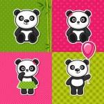 Panda — Stock Vector #41969339