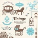 Vintage — Stock Vector #41976101