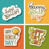 Birthday — Stock Vector