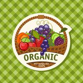 Organic — Stock Vector