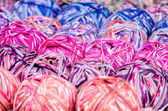 Multicolored Wool — Stock Photo
