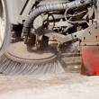 Road Sweeper - Stock Photo