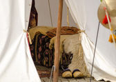 Medieval Tent — Stock Photo