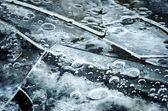 Crashed ice floes — Stock Photo